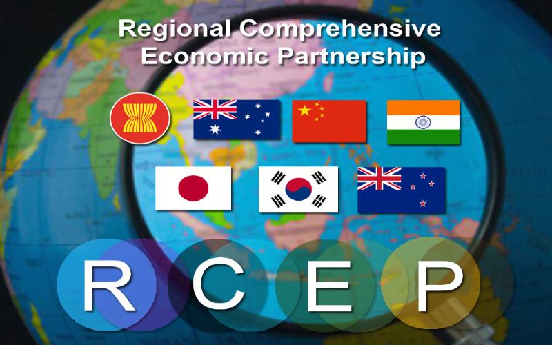 Implementasi RCEP melibatkan enam negara mitra, yakni China, Jepang, Korea Selatan, Australia, Selandia Baru, dan India.  - Asean.org