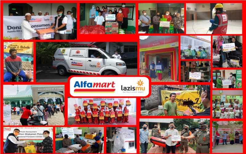 Alfamart Salurkan Donasi Konsumen Gandeng Lazismu ...