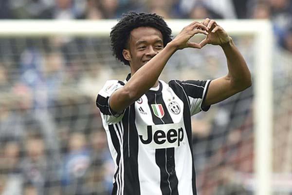 Pemain belakang Juventus Juan Guillermo Cuadrado/Reuters - Giorgio Perottino