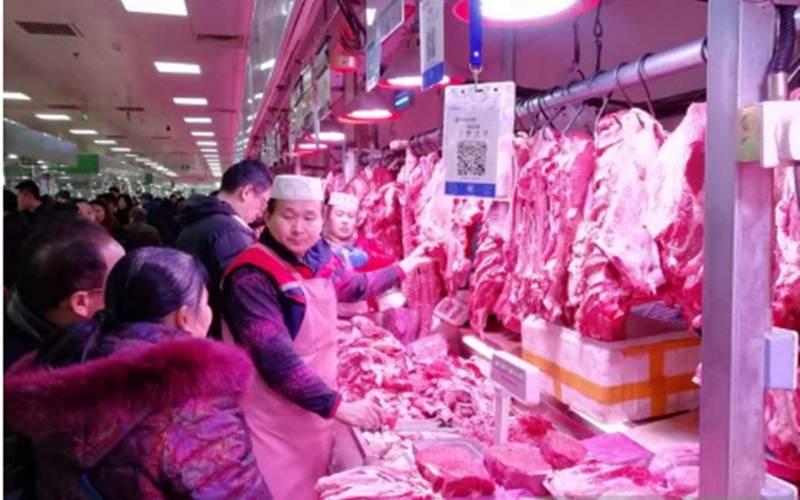 Ilustrasi-Aktivitas pedagang daging halal di Pasar Zuojiazhuang, Beijing. - ANTARA/M. Irfan Ilmie