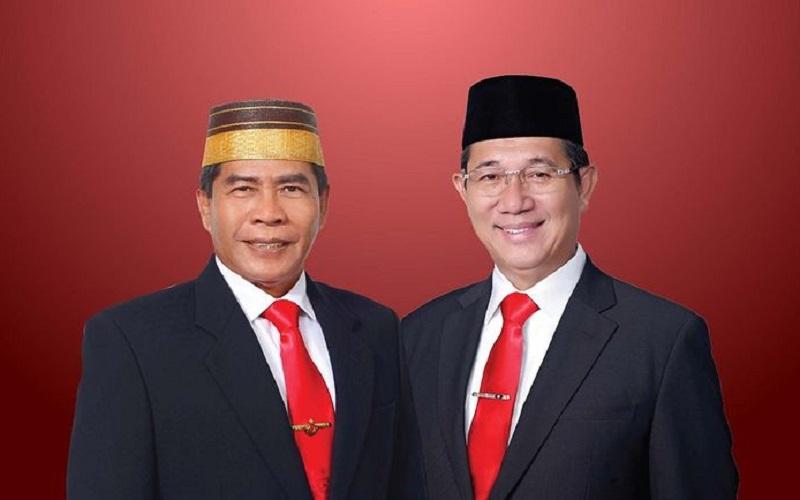 Gubernur dan Wakil Gubernur Kaltara masa jabatan 2021-2024 Zainal Arifin Paliwang-Yansen TP - Istimewa