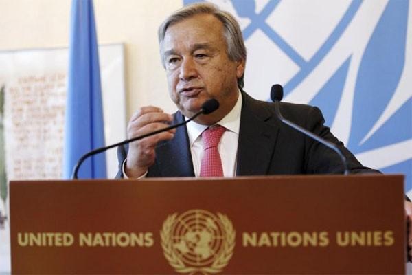 Sekjen PBB Antonio Guterres - Reuters