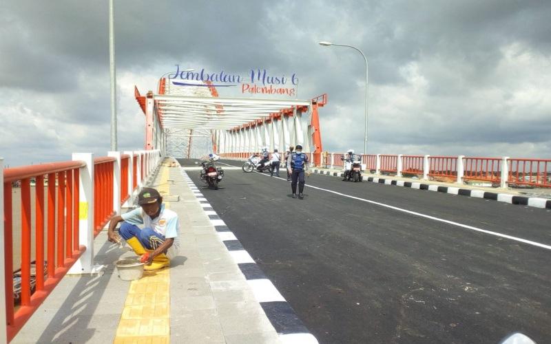Ilustrasi: Jembatan Musi 6 di Palembang, Sumatra Selatan. - Istimewa
