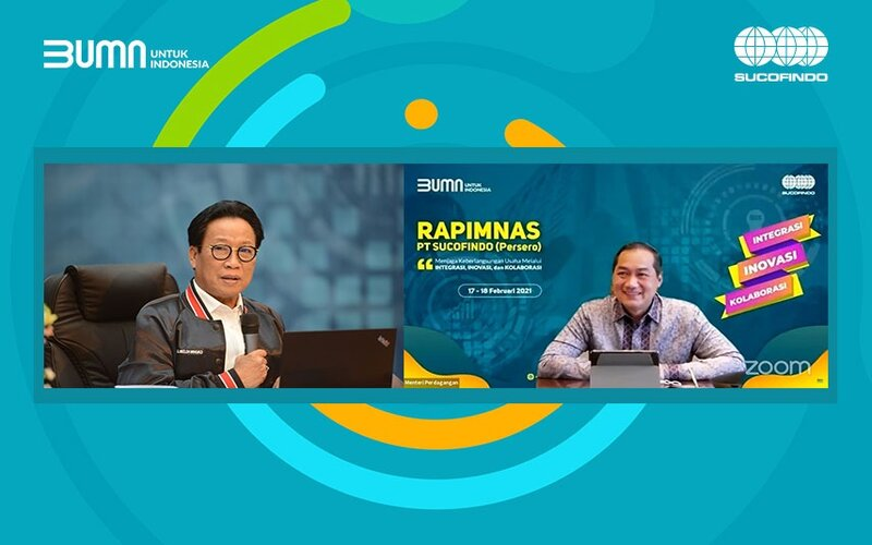 Rapat Pimpinan Nasional 2021 PT Sucofindo.