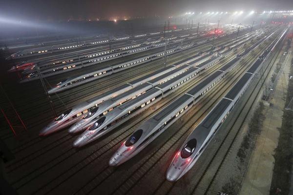Kereta cepat China - Reuters