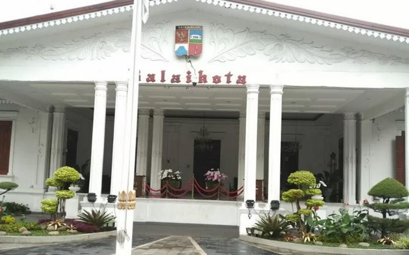 Balai Kota Bogor. - Antara