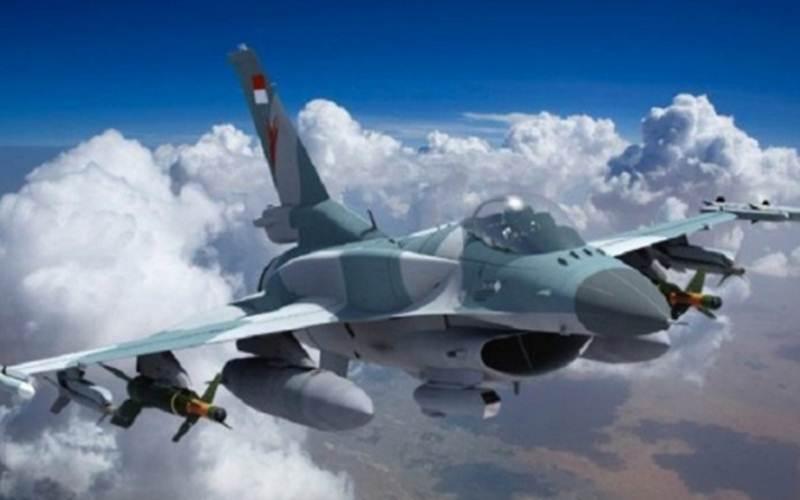 Ilustrasi - Pesawat Tempur F-16 Milik Indonesia. Ke depan, rencananya Indonesia akan memiliki pesawat tempur canggih generasi 4.5./Antara - HO