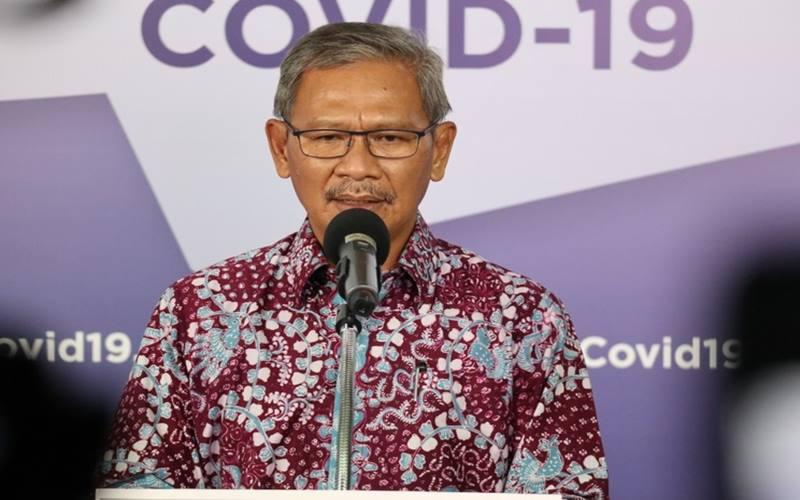 Mantan Juru Bicara Pemerintah untuk Covid-19 Achmad Yurianto menjadi ketua Dewan Pengawas BPJS Kesehatan 2021-2026./JIBI - Bisnis/Nancy Junita