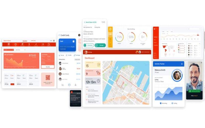 Tampilan Outsystems, startup yang mengembangkan, menerapkan, dan mengelola aplikasi perusahaan omnichannel. -  Outsystems