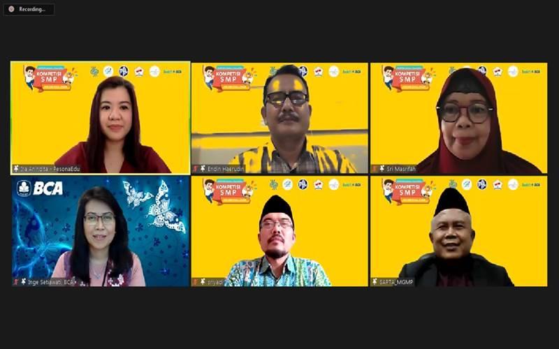 Kompetisi online kerja sama antara MGM, PesonaEdu dan BCA
