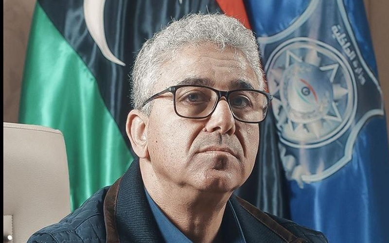 Menteri Dalam Negeri Libya Fathi Bashagha - wikiepdia