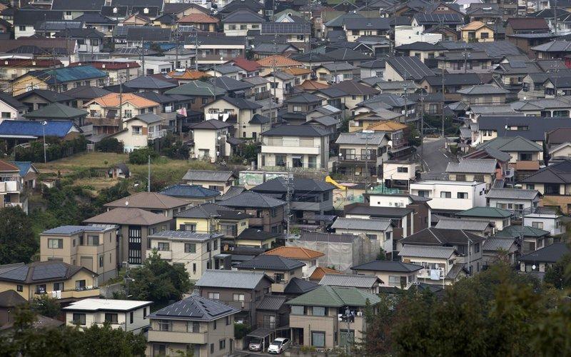 Perumahan penduduk di Prefektur Aichi yang akan menerapkan status darurat Covid-19 -  Bloomberg