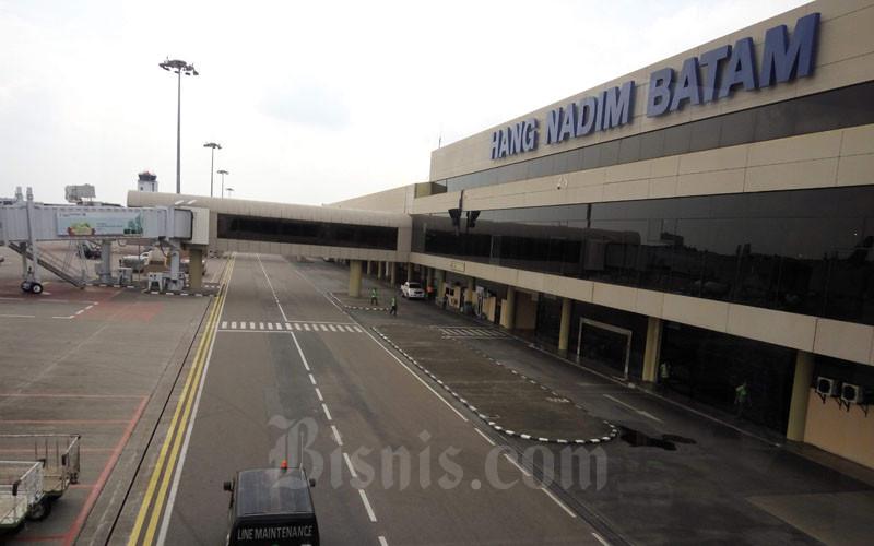 Bandara Internasional Hang Nadim Batam.  - Bisnis/Bobi Bani