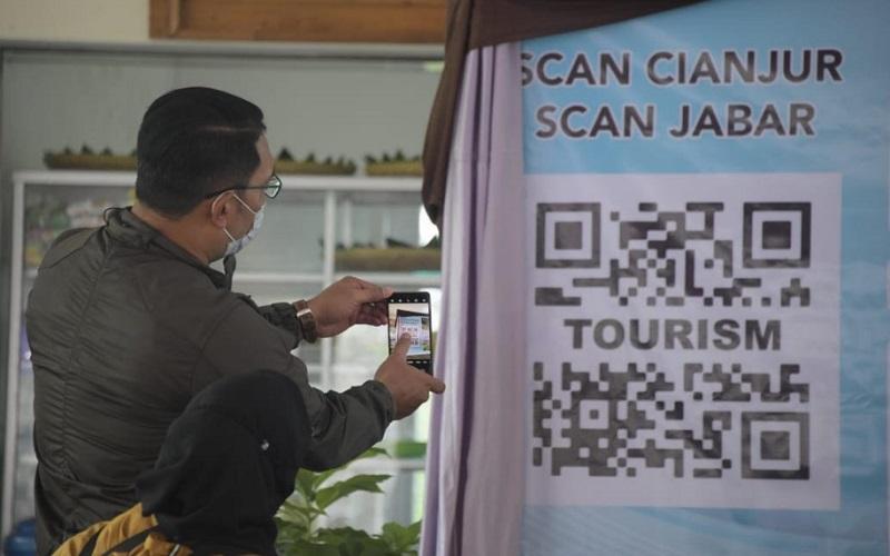 Peluncuran program Scan Jabar Scan Cianjur - Istimewa