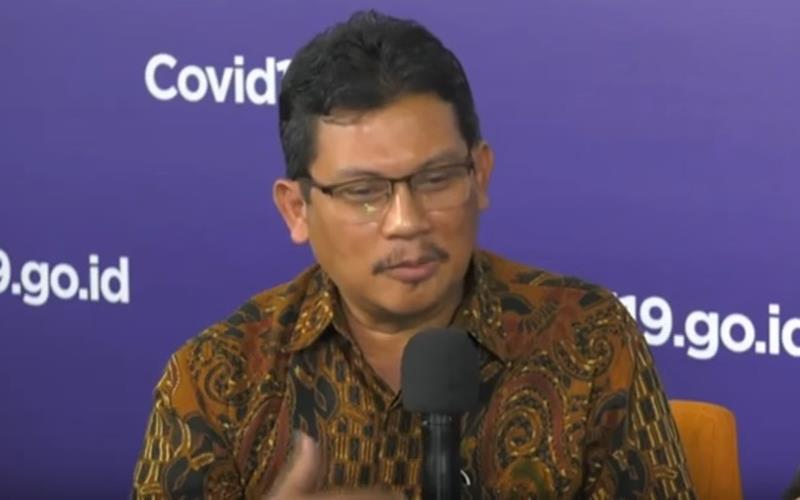 Ketua Konsorsium Riset dan Inovasi Covid-19 Ali Ghufron Mukti. JIBI - Bisnis/Nancy Junita