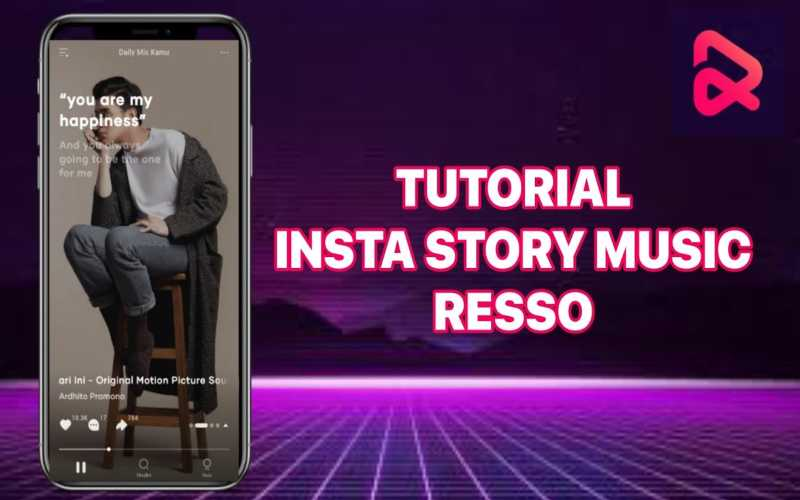 Resso, platform streaming musiksosial pertama di Indonesia. - Youtube