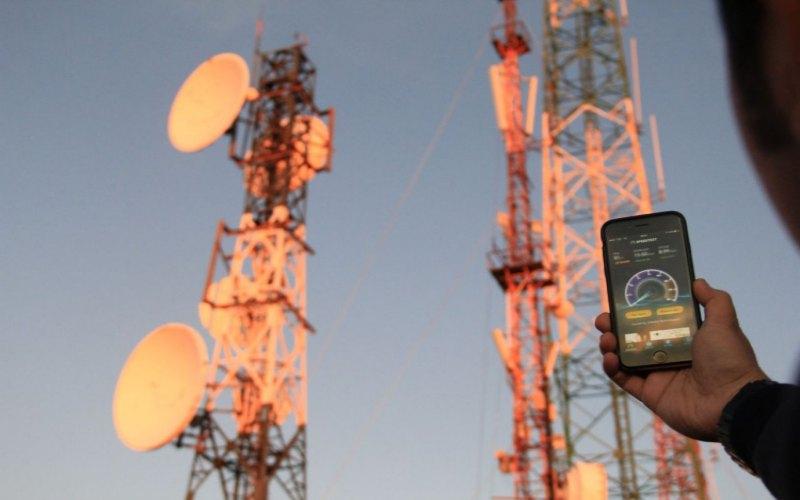 BTS Telkomsel yang menggunakan sumber energi ramah lingkungan melalui teknologi fuel cell. istimewa