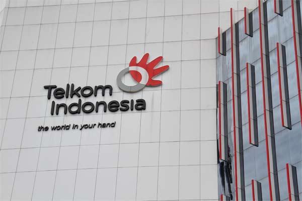 Logo Telkom Indonesia.  - telkom