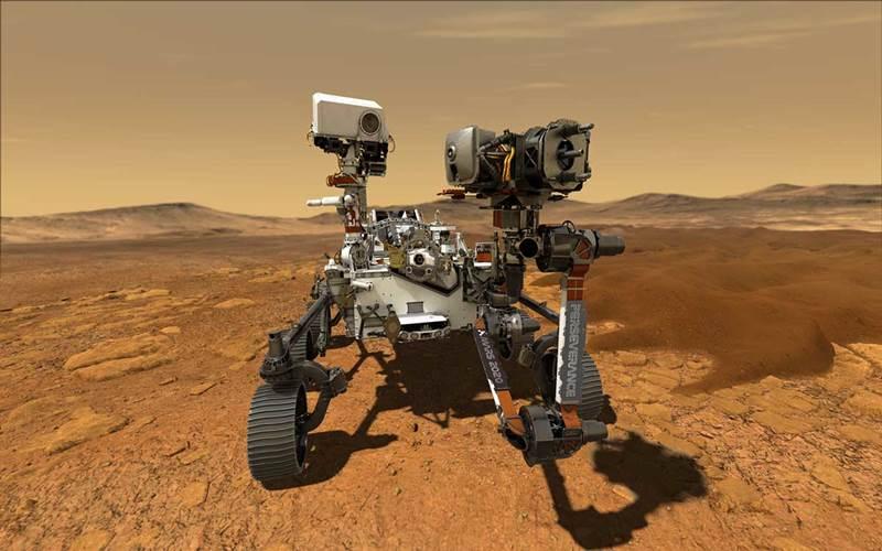 Mobil robotik Perseverance NASA