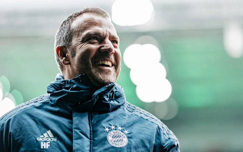 Pelatih Bayern Munchen Hans-Dieter Flick - Bundesliga.com
