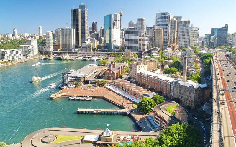 Kawasan Waterloo di Sydney, Australia. - CrownGroup.com.au