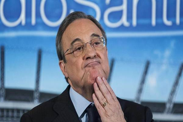 Presiden Real Madrid Florentino Perez - Istimewa