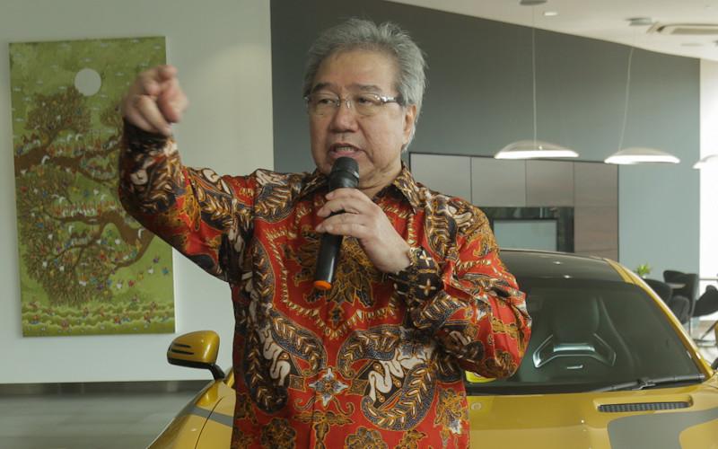 Ketua Gaikindo Jongkie Sugiarto.  - Bisnis