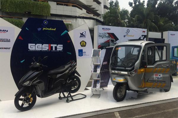Sepeda Motor Gesit.  - Bisnis.com