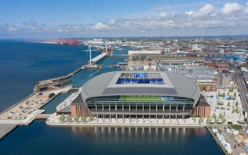 Stadion baru Everton, Bramley-Moore Dock. - Everton