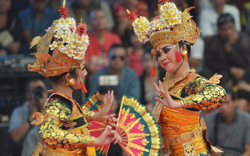 Ilustrasi Tari Legong Bali - Antara Foto/Nyoman Budhiana