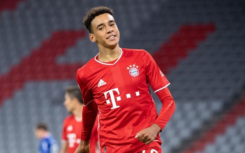 Pemain Bayern Munchen, Jamal Musiala - Football Addict