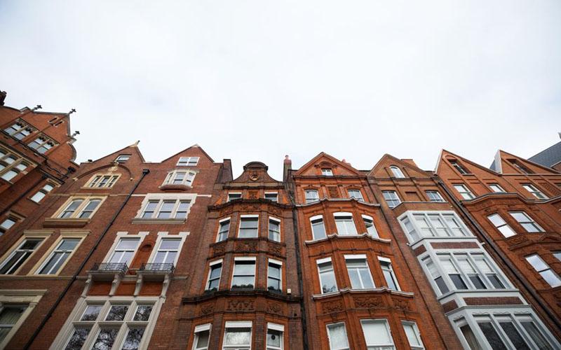 Residensial vertikal di Chelsea, London, Inggris./Chris Ratcliffe - Bloomberg