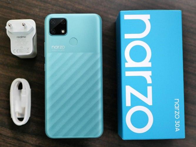 Handphone Narzo 30A akan dilengkapi dengan 6000mAh Mega Battery  18W Quick Charge. - istimewa