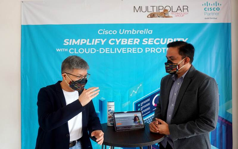 Kerjasama Multipolar Technology dan Cisco Umbrella