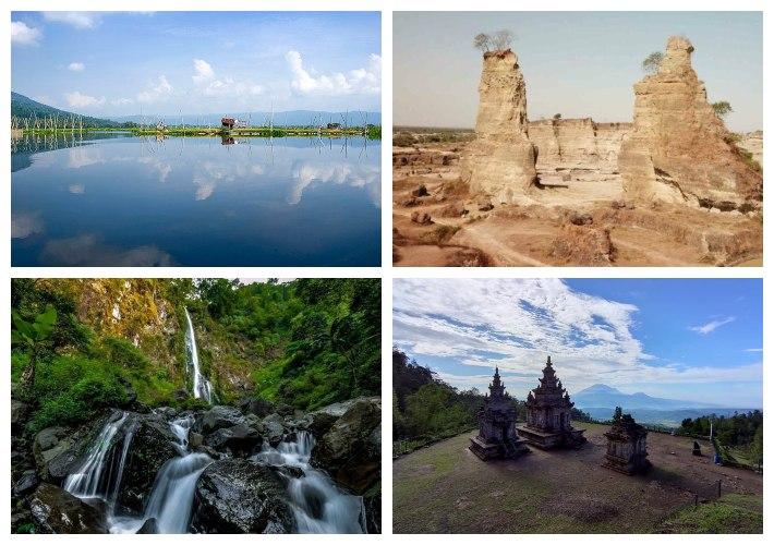 Destinasi wisata di Semarang, Jawa Tengah.