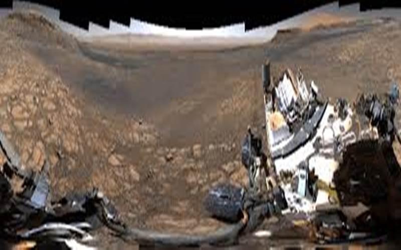 Panorama Mars dari Perseverance