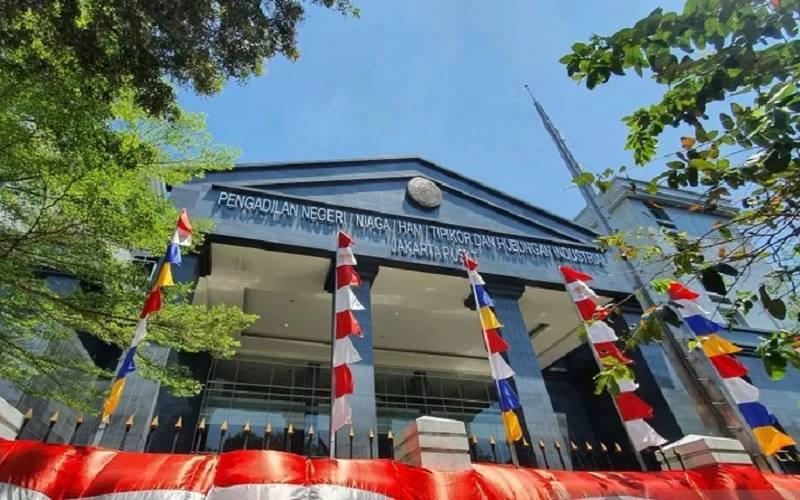 Gedung Pengadilan Negeri Jakarta Pusat. - Antara
