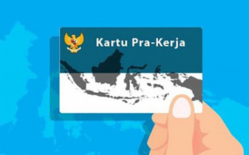 Ilustrasi program Kartu Prakerja  -  ANTARA