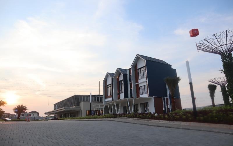 Contoh unit hunian di Sentosa Park di Tangerang. - Istimewa