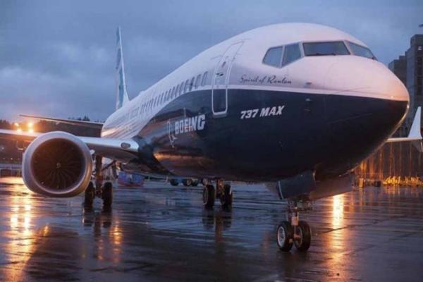 Ilustrasi - Pesawat Boeing 737 Max - Antara