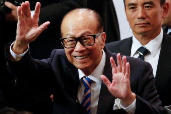 Taipan Hong Kong Li Ka-shing. - Reuters