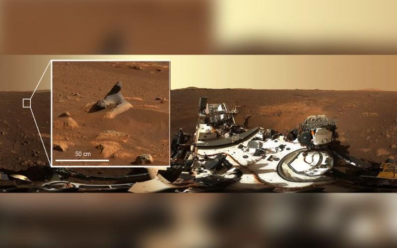 Planet Mars dari foto HD NASA