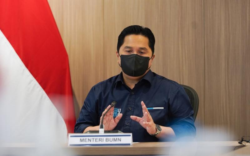 Menteri BUMN Erick Thohir mendukung penuh keputusan PT Garuda Indonesia Tbk. (GIAA) untuk menghentikan kontrak 12 pesawat Bombardier CRJ 1000. Pasalnya, hal tersebut sebagai bagian dari upaya efisiensi di tubuh maskapai nasional tersebut. -  Istimewa