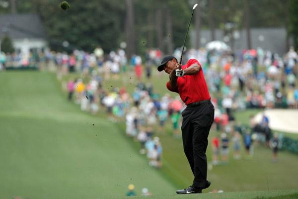 Pegolf Amerika Serikat Tiger Woods. - Reuters