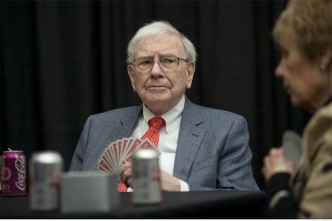 Warren Buffett.  - Bloomberg