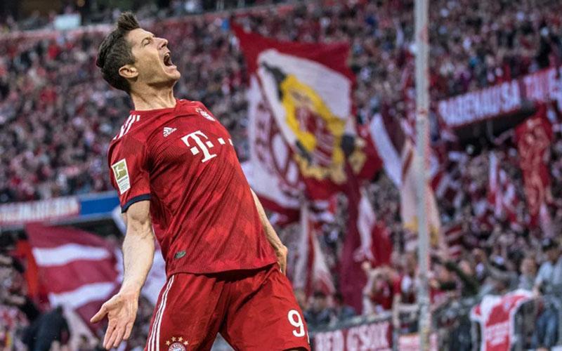 Ujung tombak Bayern Munchen Robert Lewandowski - Bundesliga.com