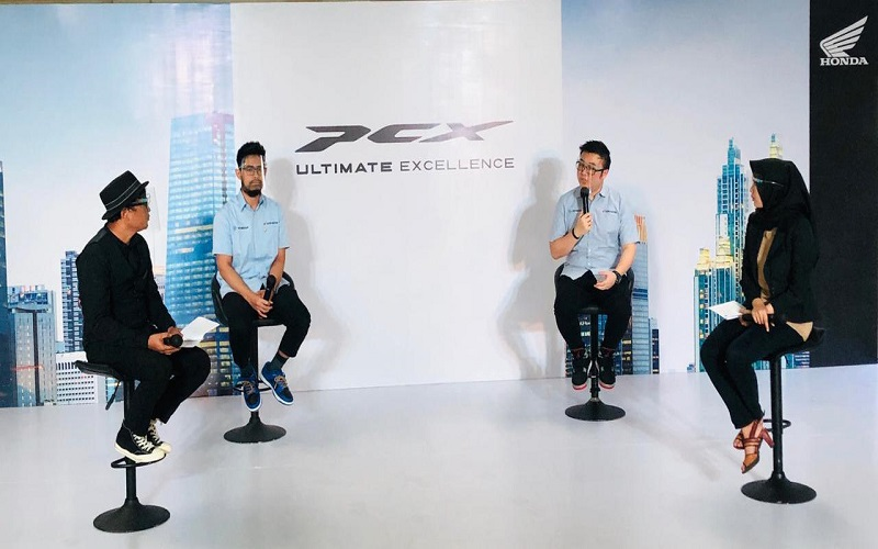 Press Conference Virtual peluncuran All New Honda PCX.  - Istimewa