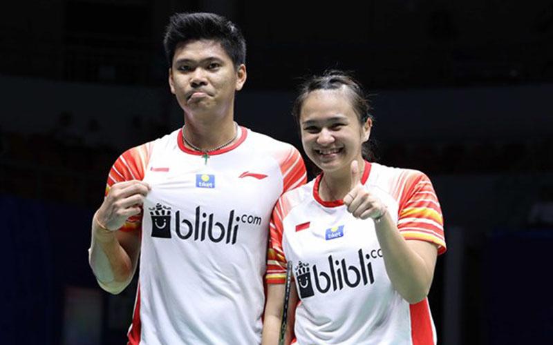 Pasangan ganda campuran Praveen Jordan dan Melati Daeva Oktavianti - BadmintonIndonesia.org