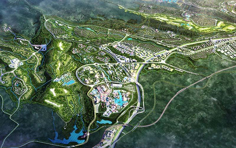 Rencana pengembangan Lido City. - mncland.com