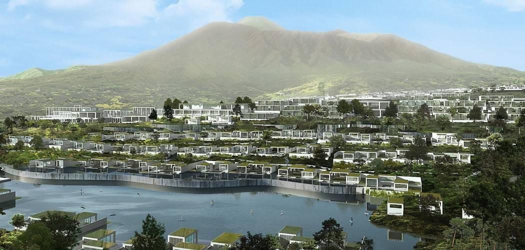Konsep pemukiman Trump Residences di Lido yang dibangun bersama PT MNC Land Tbk. (KPIG). - Dok. laman Trumpresidencesindonesia